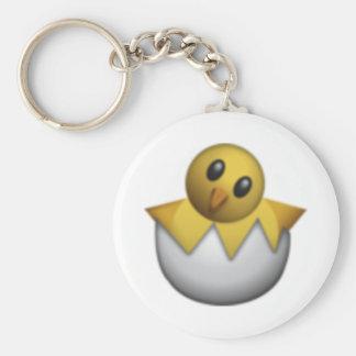 Hatching Chick - Emoji Keychain