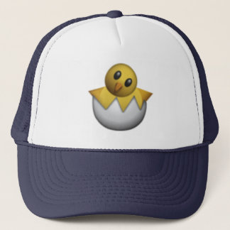 Hatching Chick - Emoji Trucker Hat