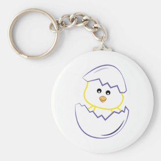 Hatching Chick Keychain