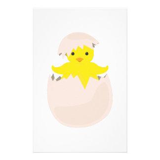 Hatching Chick Custom Stationery