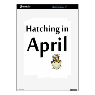 hatching decal for iPad 2