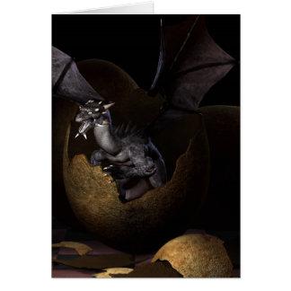 Hatching Dragons Card
