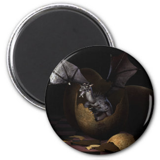 Hatching Dragons Magnet