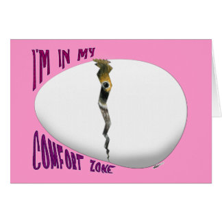 Hatching Egg Comfort Zone Stationery Note Card