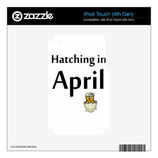 hatching iPod touch 4G decals