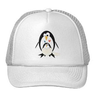 Hatching Penguin Cap Trucker Hat