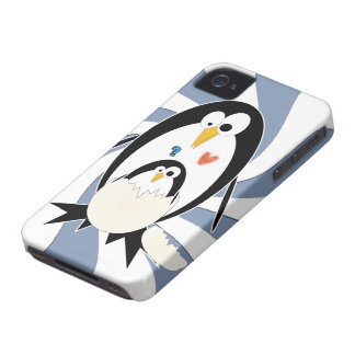 Hatching Penguin iPhone 4 Barely There Case