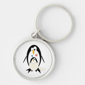 Hatching Penguin Key Ring