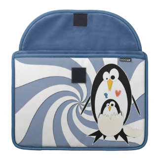 Hatching Penguin Macbook Pro 13in Rickshaw Sleeve