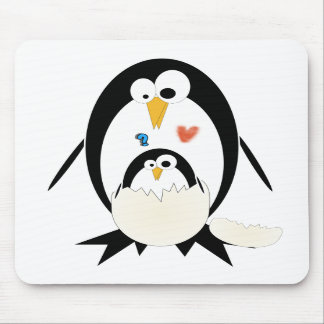 Hatching Penguin Mouse Pad