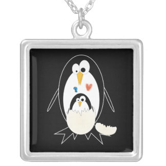 Hatching Penguin Necklace
