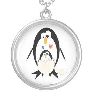 Hatching Penguin Round Necklace