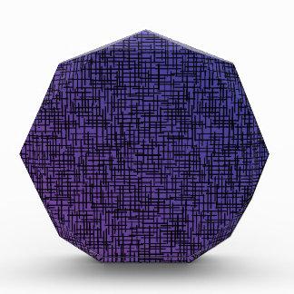 Hatchings cruzado púrpura