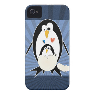 Hatchling Penguin iPhone 4 Barely There Case
