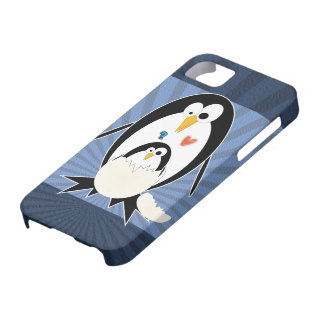 Hatchling Penguin iPhone 5 Barely There Case