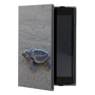 Hatchlings de la tortuga iPad mini cobertura