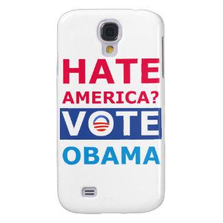 Hate America? Vote Obama (Anti Obama) Galaxy S4 Cover
