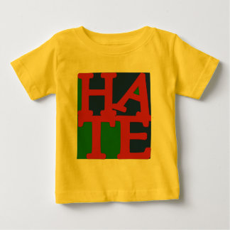 HATE Anti Valentine Design Baby T-Shirt