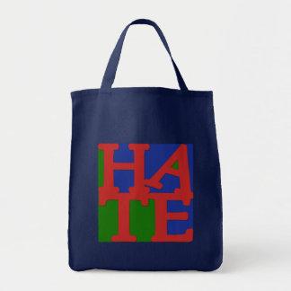 HATE Anti Valentine Design Canvas Bags