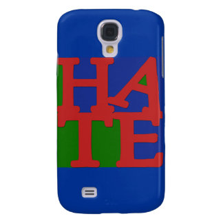 HATE Anti Valentine Design Samsung Galaxy S4 Cover