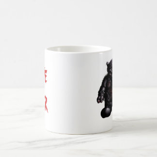 Hate Bear Mug RED LETTERS