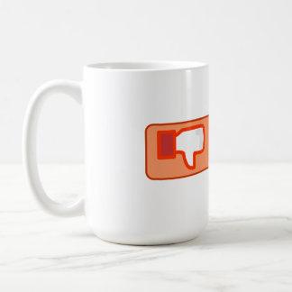 Hate Button Coffee Mug