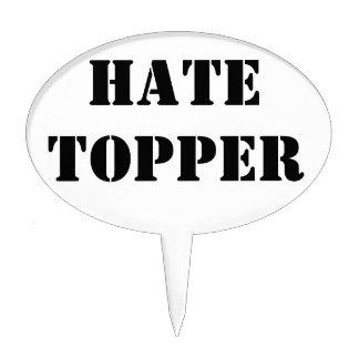 Hate Cake Topper