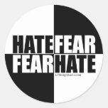 Hate Fear / Fear Hate - Stickers