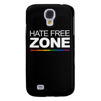 HATE FREE ZONE SAMSUNG GALAXY S4 CASES