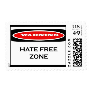 Hate Free Zone Stamps