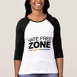 HATE FREE ZONE T-SHIRT