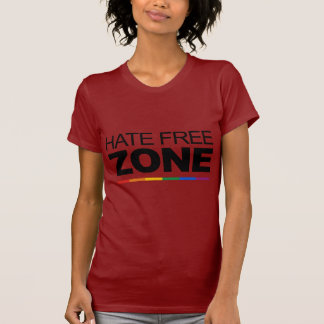 HATE FREE ZONE TEE SHIRT
