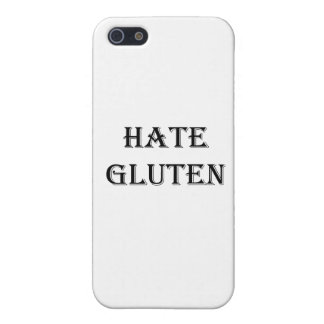 HATE GLUTEN iPhone 5 Case