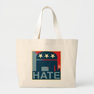 Hate-Gop Large Tote Bag