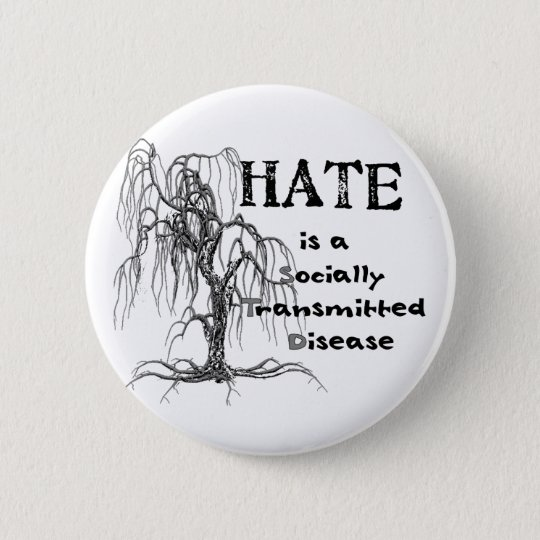 Hate is an STD Button