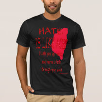 Hate Is Like Acid (blood) Tee