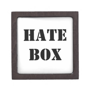 Hate Jewelry Box