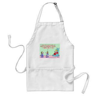 hate lying to king adult apron
