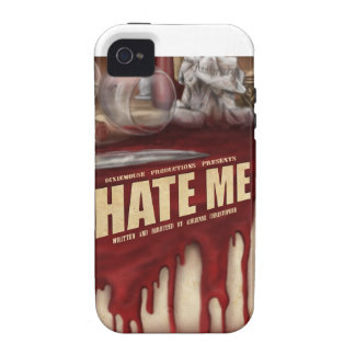 Hate Me iPhone 4/4S Tough Case Mate Vibe iPhone 4 Cases