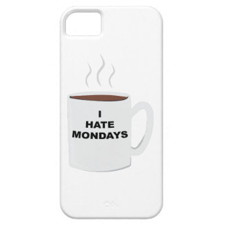 Hate Mondays iPhone 5 Cover