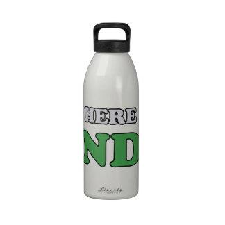 hate mondays reusable water bottle