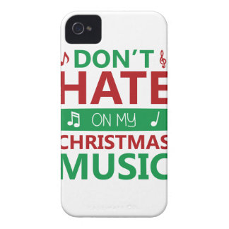 Hate On Christmas Music Case-Mate iPhone 4 Case
