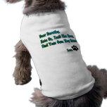 Hate oz dog t shirt