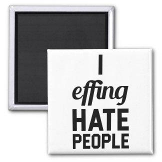 Hate People Magnet
