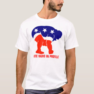 Hate Radio in Profile T-Shirt