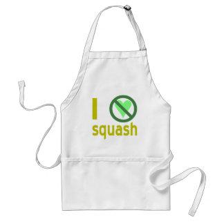 Hate Squash Adult Apron