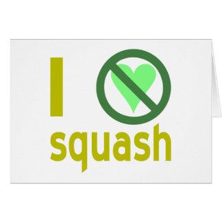 Hate Squash Card