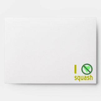 Hate Squash Envelope