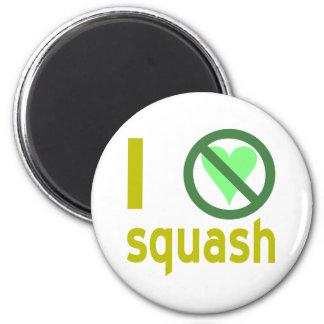 Hate Squash Refrigerator Magnet