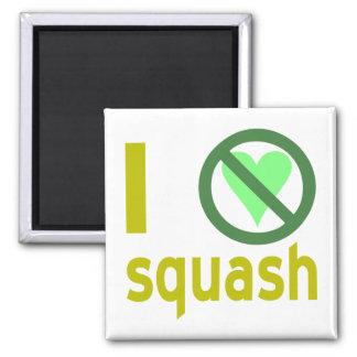 Hate Squash Fridge Magnet